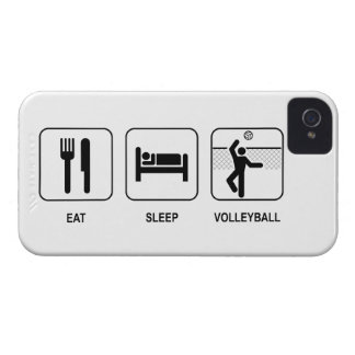 Eat Sleep Volleyball iPhone 4 Covers