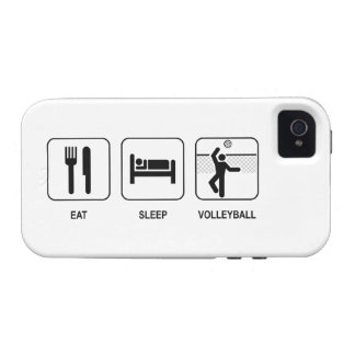 Eat Sleep Volleyball Case-Mate iPhone 4 Cover