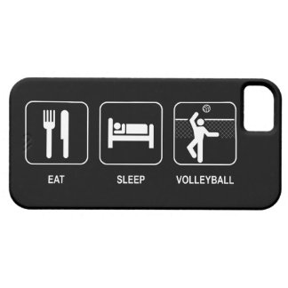 Eat Sleep Volleyball Case For The iPhone 5