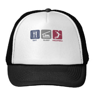 Eat Sleep Volleyball - Girl Hats