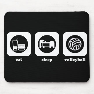 Eat. Sleep. Volleyball. Mousepad