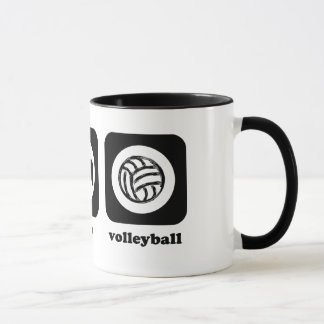 Eat. Sleep. Volleyball. Mug