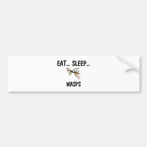 Eat Sleep WASPS Bumper Stickers