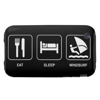 Eat Sleep Windsurf iPhone 3 Tough Case