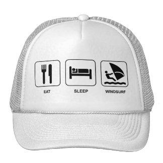 Eat Sleep Windsurf Hat
