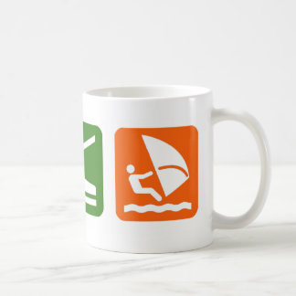 Eat Sleep Windsurfing Coffee Mug
