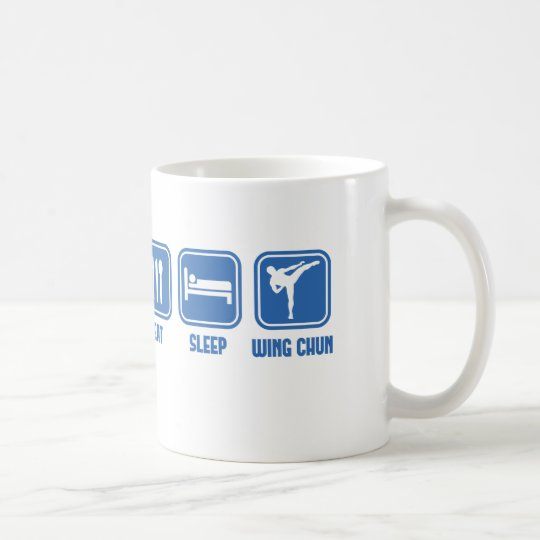 Eat Sleep Wing Chun Martial Arts cup gift