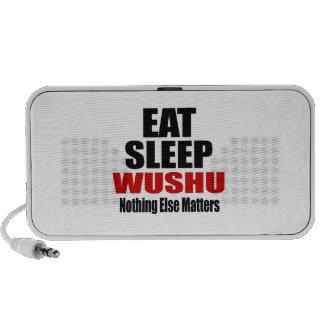 EAT SLEEP WUSHU LAPTOP SPEAKER