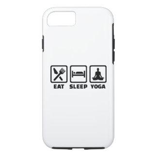 Eat sleep yoga iPhone 7 case