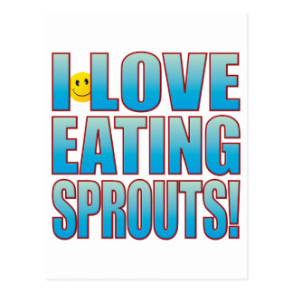 Eat Sprouts Life B Postcard