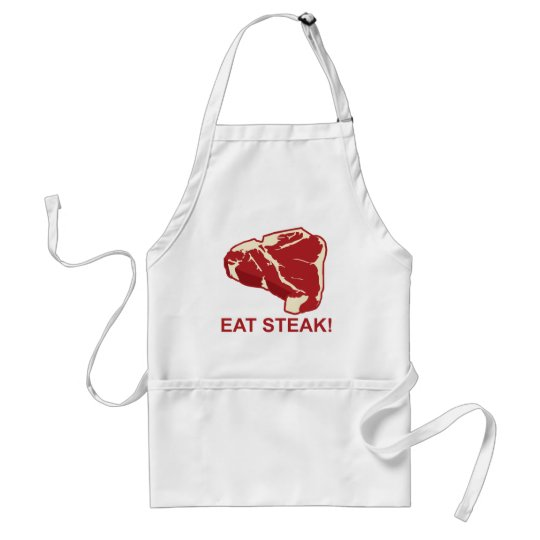 Eat STeak Standard Apron