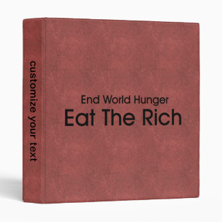 Eat The Rich Binder