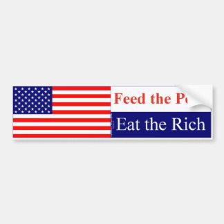 Eat the Rich Bumper Sticker