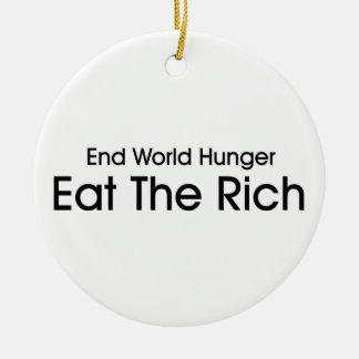 Eat The Rich Ornament