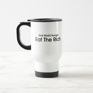 Eat The Rich Stainless Steel Travel Mug