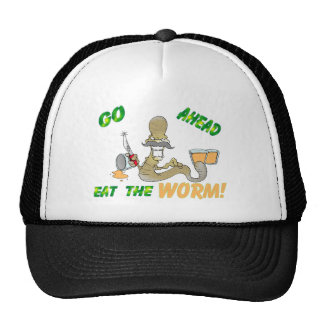 Eat the WORM Hat