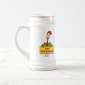 Eat Tofurkey Thanksgiving Gift Coffee Mug