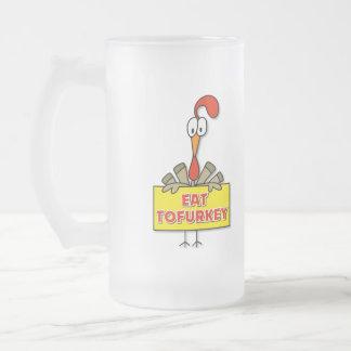 Eat Tofurkey Thanksgiving Gift Coffee Mugs