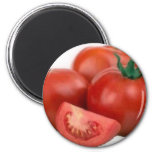 Eat Tomatoes Refrigerator Magnet