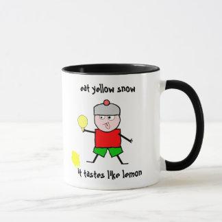 Eat yellow snow mug
