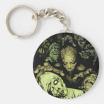 Eat your brains key chain
