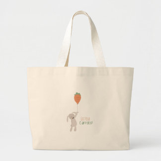 Eat Your Carrots! Jumbo Tote Bag