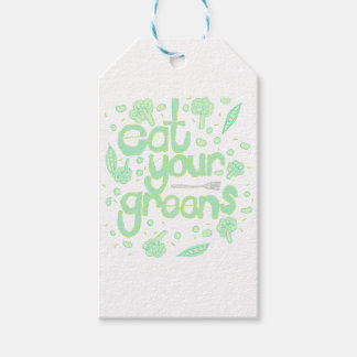 eat your greens gift tags