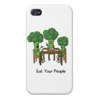 Eat Your People Cases For iPhone 4