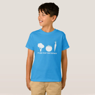 Eat Your Vegetables Kids T-Shirt