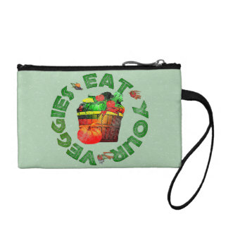 Eat Your Veggies Coin Wallet