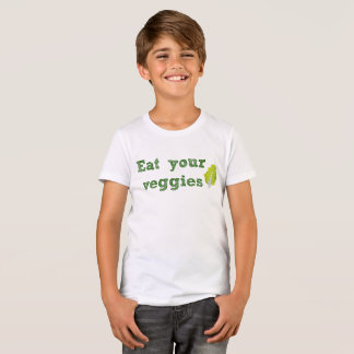 Eat Your Veggies Kid's T-Shirt