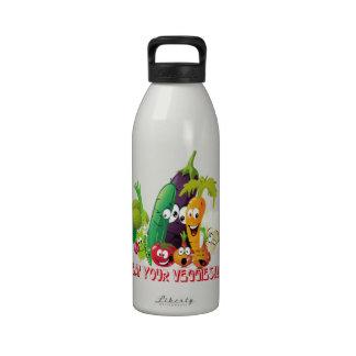 Eat your Veggies Liberty Bottle Water Bottle