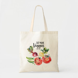 Eat your veggies shopping Tote Bag