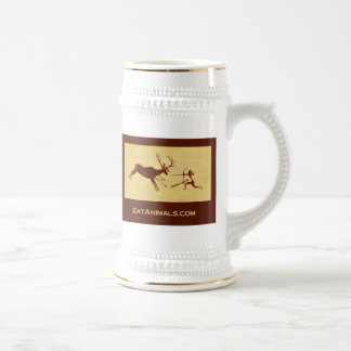 EatAnimals.com Custom Stein