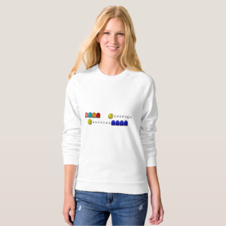 EATING DOTS 2 SWEATSHIRT