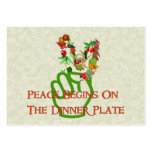 Eating For Peace Business Cards