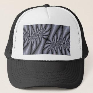 Eating Tin Foil Fractal Trucker Hats