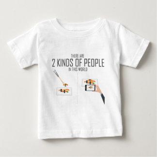 Eating Vs Taking photo T-shirts