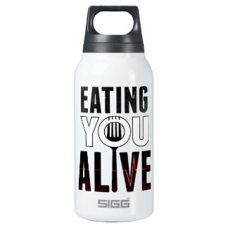 Eating You Alive - water bottle (0.3 L)