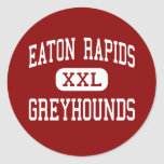 Eaton Rapids - Greyhounds - High - Eaton Rapids Round Sticker