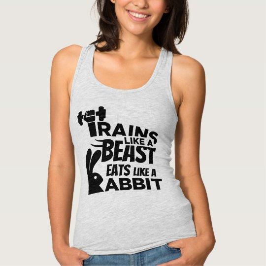 Eats Like A Rabbit, Trains Like A Beast