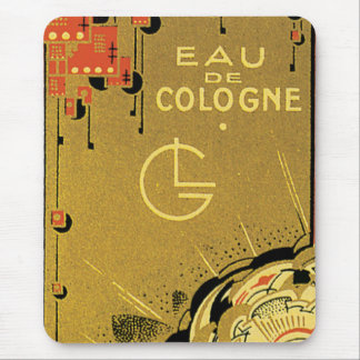 Eau De Cologne Gold Mouse Pads