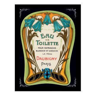 Eau de Toilette Doubigny Paris Post Card