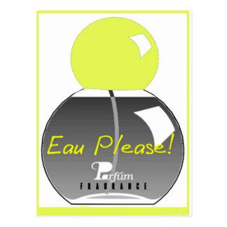 EAU PLEASE POSTCARD