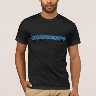 Eavesdrops blue logo no back print T-Shirt