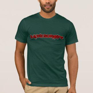 Eavesdrops red logo no back print T-Shirt