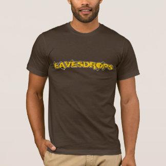 Eavesdrops yellow logo no back print T-Shirt