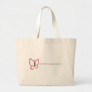 eb logo white2 jumbo tote bag