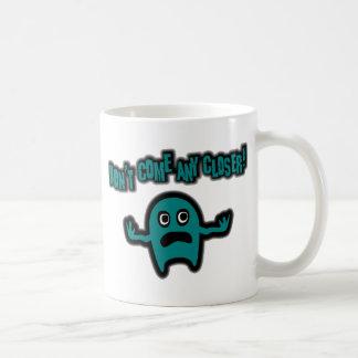 Ebbi, The Cute Little Monster - Teal Coffee Mug