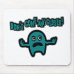 Ebbi, The Cute Little Monster - Teal Mousepad